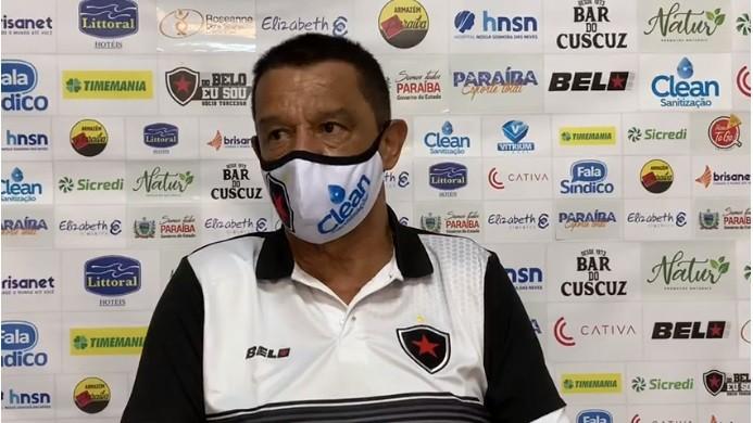 Mauro Fernandes Técnico Botafogo